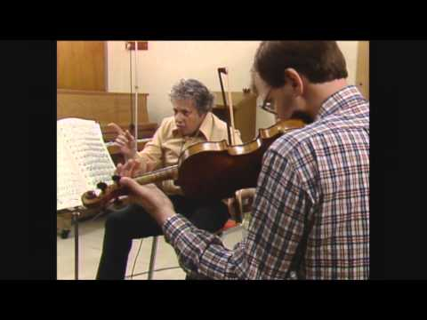 Speak the Music - Robert Mann and the Mysteries of Chamber Music