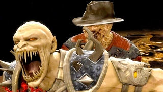 Mortal Kombat 9 - All Fatalities & X-Rays on Baraka Costume 2 4K Ultra HD Gameplay Mods