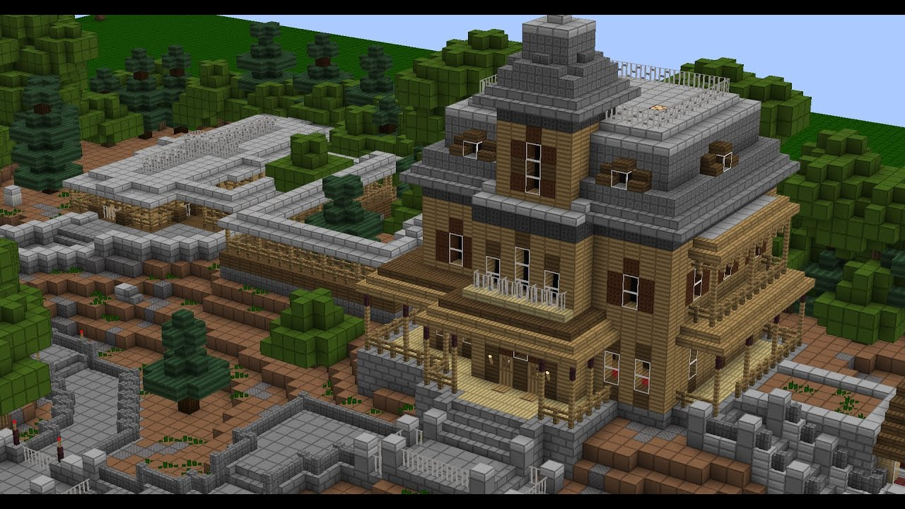 Victorian Mansion Floor Plan Minecraft Phantom Manor Youtube