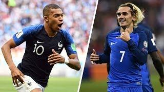 9 Buts MAGIQUES de l'Équipe de France en 2017/2018 !