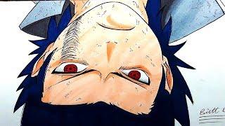 how to draw sasuke uchiha || speed drawing || !  ( MUST WATCH )