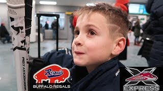 Kids HocKey Buffalo Regals vs York Simcoe Horseshoe Tournament Burlington Ontario Novice Triple A