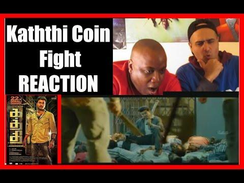 Kaththi Coin Fight Scene Reaction I Vijay I