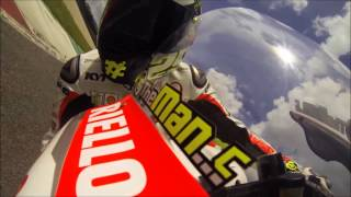 Andrea Iannone: a lap on Mugello circuit on MotoGP Ducati GP14 bike