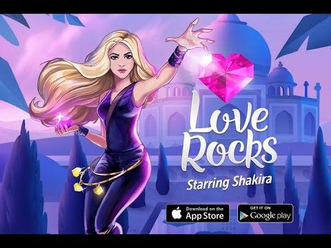 Shakira presenta su videojuego Love Rocks