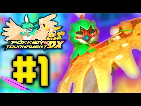 Download Youtube: Pokken Tournament DX Episode 1 - MY GUY DECIDUEYE! (Pokken Tournament DX Ferrum League)