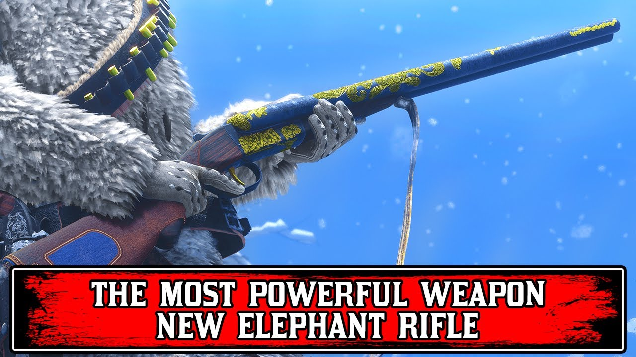 New ELEPHANT RIFLE! Is it Worth Buying? Red Dead Online Naturalist Update (RDR2)