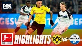 Borussia Dortmund 3-3 Paderborn | HIGHLIGHTS | Jornada 12 | Bundesliga