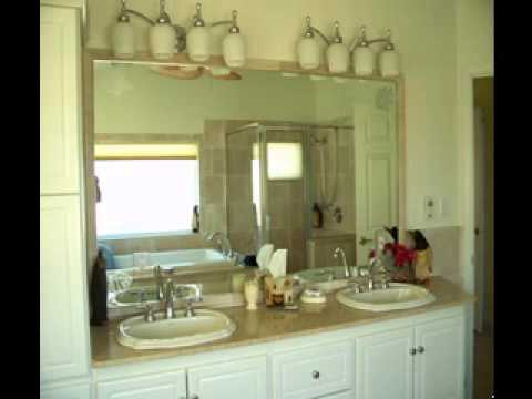 bathroom wall mirror ideas - youtube