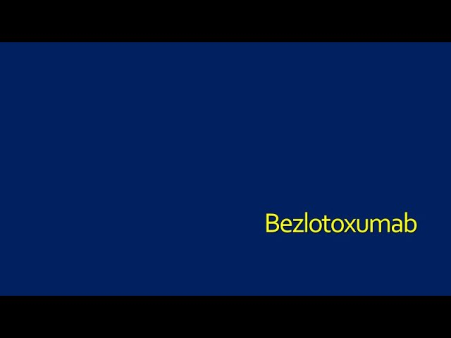 Bezlotoxumab-Patients
