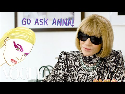Anna Wintour on Euphoria's Makeup, Instagram and Matching Outfits | Go Ask Anna | Vogue. http://bit.ly/2GPkyb3