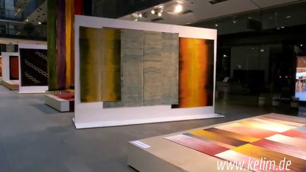 kiran s kelim ausstellung stilwerk berlin youtube. Black Bedroom Furniture Sets. Home Design Ideas