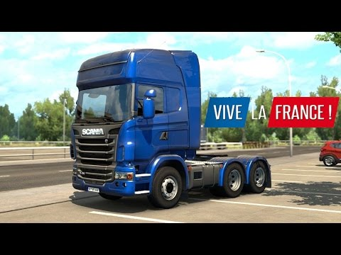 ETS 2 - Vive la France DLC - Trailer Pickup from Bordeaux |