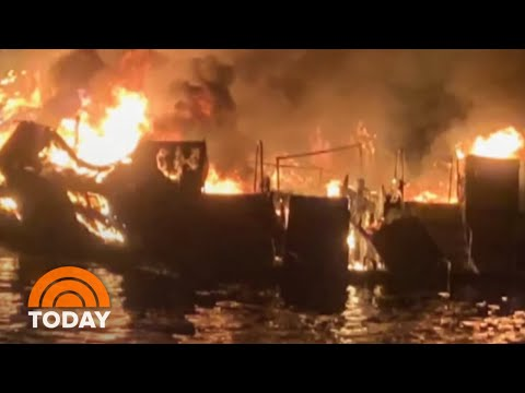 Death Toll Climbs To 25 In California Boat Fire | TODAY