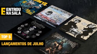 Top 5 Julho - Cradle of Filth, Symphony X, Year of the Goat, The Dead Daisies e Jackdevil