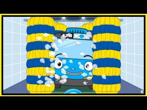 TAYO'S BATHTIME! - Tayo Little Bus Garage Game App Demo