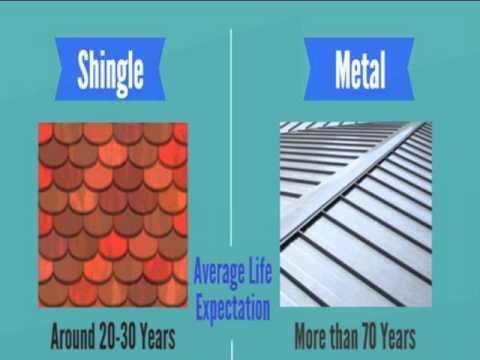 Shingles Vs Metal Roofing