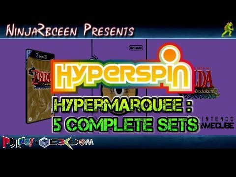 Hyperspin-Hypermarquee 5 Full Set Pack
