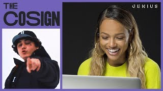 Karrueche Reacts To New West Coast Rappers (Blueface, Saweetie, Shoreline Mafia) | The Cosign