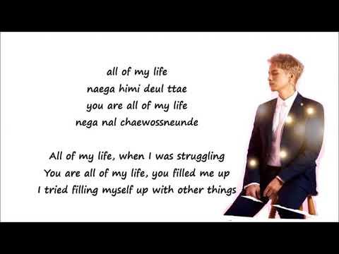 Park Won - All Of My Life(Rom+Eng Lyrics)