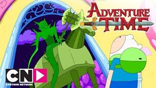 Обложка Время приключений Незваный гость Cartoon Network