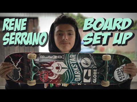 RENE SERRANO BOARD SET UP AND INTERVIEW #2