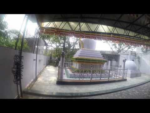 Outside Mahabodhi Society Sravasti