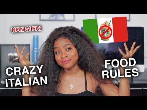 4 CRAZY ITALIAN FOOD RULES