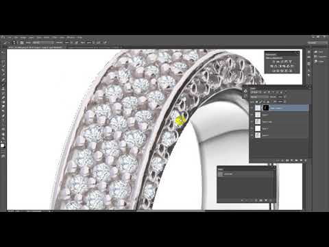 Jewelry Retouching For Online Shop And  Website !!!!!