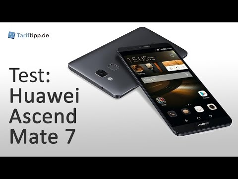 Huawei Ascend Mate 7 | Test deutsch
