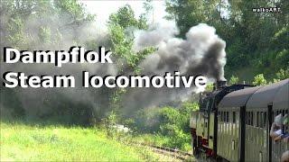 125 Jahre Wutachtalbahn Fahrt NEU Dampflok Henschel 262 Sauschwänzlebahn 2015- steam locomotive ride