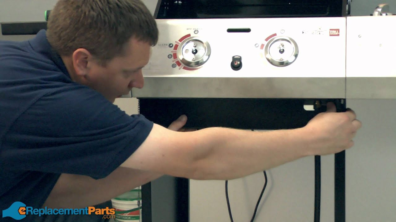 Appliance Gas Regulator How To Replace The Hose Valve Regulator Assembly On A Char Broil