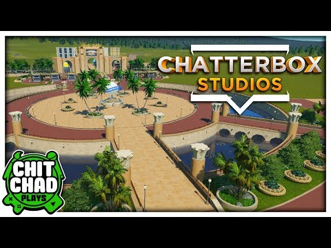 Port of Entry Plaza and Gate | Studio Theme Park - Planet Coaster