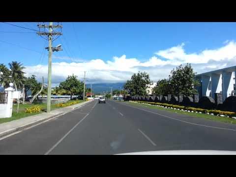 Mulinuu Apia Samoa (The capital of SAMOA)