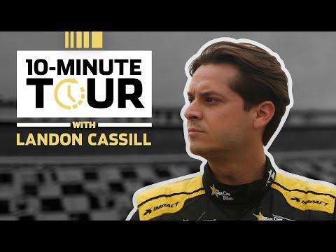 Landon Cassill takes us through the ISM Raceway garage: 10-Minute Tour