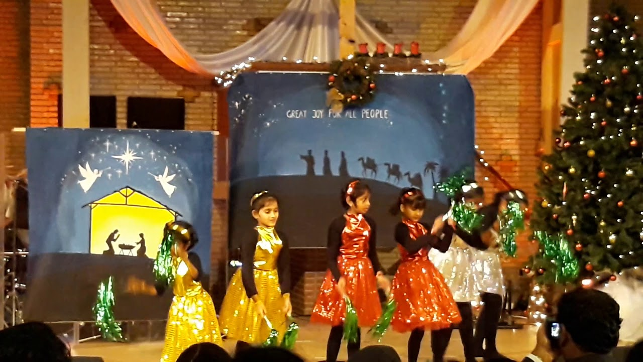 Indian Kids Christmas Song | Dance | tara velasindi ...