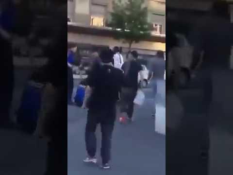 MUSLIM MIGRANTS ATTACK SWISS POLICE!