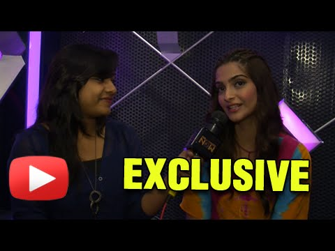Sonam Kapoor Talks About Fawad Khan | Khoobsurat | EXCLUSIVE