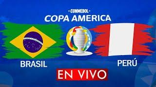 BRASIL vs PERU EN VIVO COPA AMERICA 2021