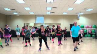 Dance Fitness-I wanna dance with somebody by Glee Cast