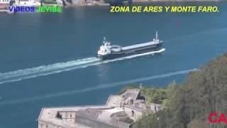 Gambar cover RIA DE FERROL DESDE MONTE FARO Y ZONA DE ARES, A CORUÑA. 4K