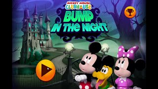 Mickey Mouse Clubhouse Games  -  Bump In The Night Halloween Game
