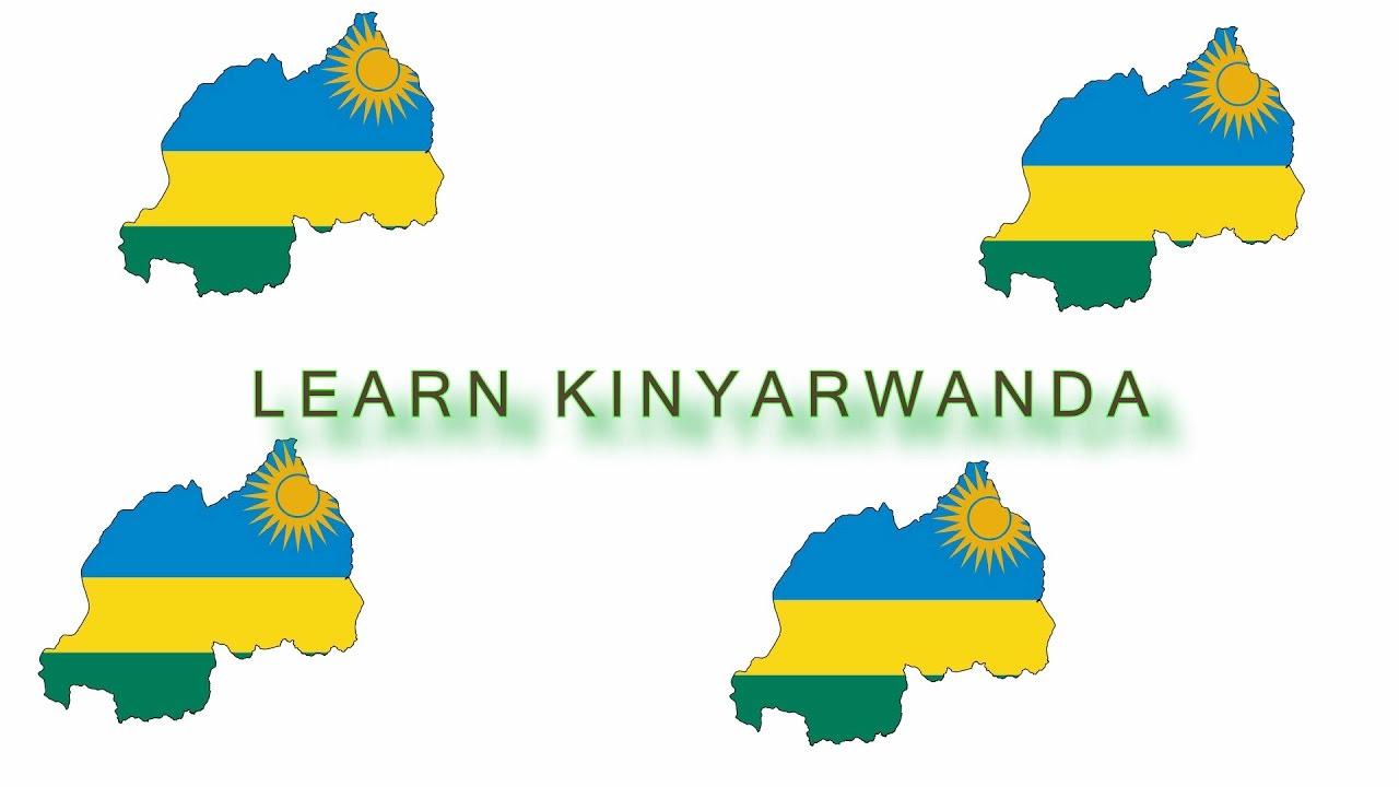Learn Kinyarwanda Lesson #1 - YouTube