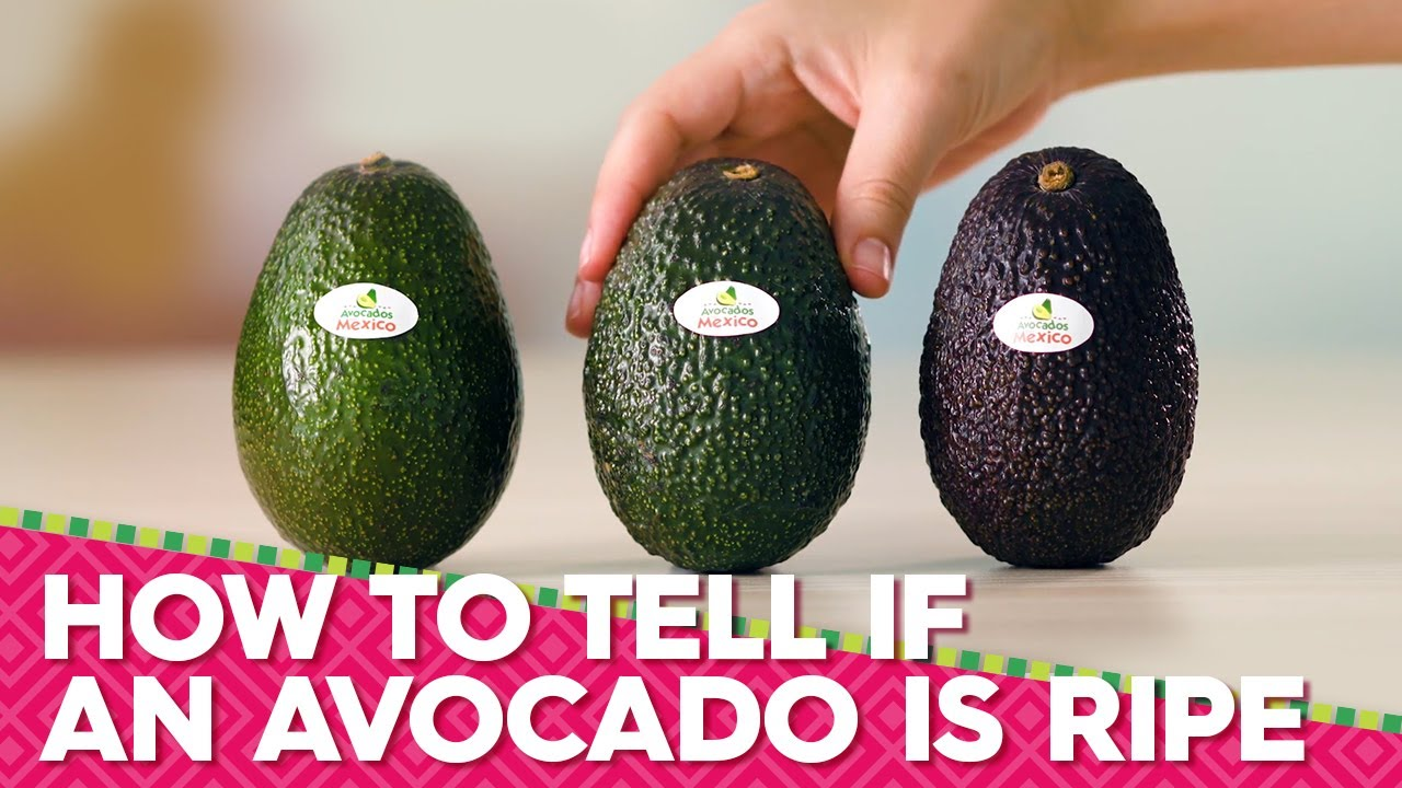 How To Tell If An Avocado Is Ripe Shopper Avocados From Mexico