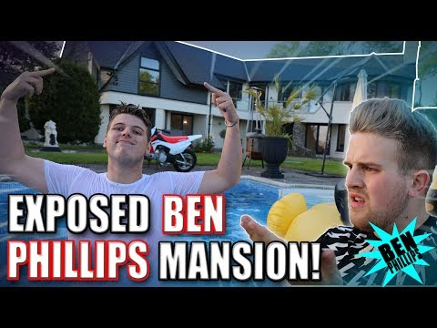 Thumbnail: BEN PHILLIPS MANSION **EXPOSED!** (TRUTH)