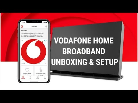 Vodafone Broadband Unboxing & Quick Setup Guide!