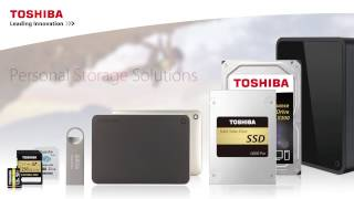 TOSHIBA - Personal Storage Solutions