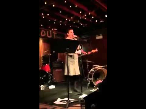 """Lily Emerson Cover Of Suburban Lawns """"Janitor"""" At The Hideout,  Chicago"""