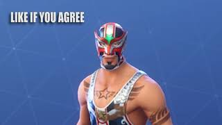 Fortnite Review : masked fury dynamo skins