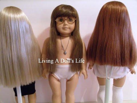 Restore + Maintain American Girl Doll Hair